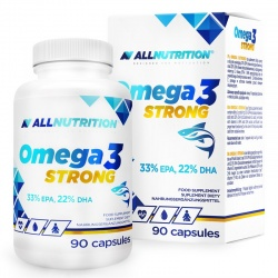Omega 3 Strong 90 kapsułek AllNutrition