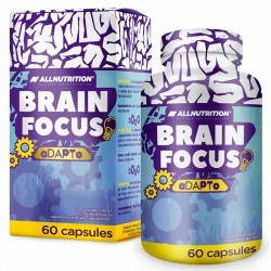Brain Focus Adapto 60 kapsułek AllNutrition